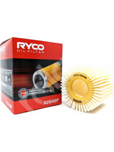 Ryco Oil Filter FOR TOYOTA CAMRY XV5_ (R2648P)