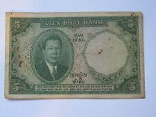5 Piastres Bao Dai 1953 (See Photos)