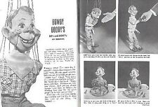 HOWDY DOODY 1949 PICTORIAL DO's & DON'T's ON MANNERS with BOB SMITH
