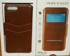 iDeal of Sweden Swipe Wallet Folio Case for iPhone 7+ Brown IDSWI-I7P-03 - SN17