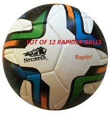 Lot Of 12 Spedster Top Rapider thermo bonding Premium soccer ballS