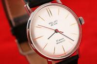 Luch - Poljot De Luxe cal. 2209 Ultra slim Russian USSR luxury style wrist watch