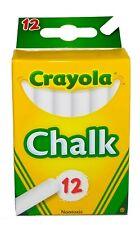 Crayola White Chalk 12 ea New