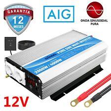 Inversor de energía de onda sinusoidal pura 2000W DC 12V a AC 220V 230V GIANDEL