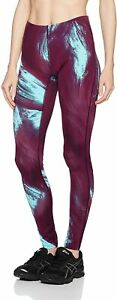 Asics Women's Running Tights Graphic Active Tights - Purple - New