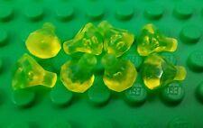 *NEW* Lego Bulk Trans Yellow Jewels Gems Treasure Diamonds - 8 pieces