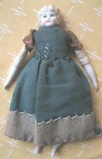 "VICTORIAN CHINA DOLL,7 1/2"", Dress,China Arms,Legs"