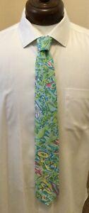 LILLY PULITZER Tie w/ Tubas Cotton USA Men's Stuff