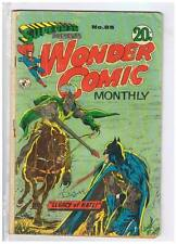 Colour Comics Pty Ltd Superman Presents Wonder Comics Monthly #85 VG/F 1972 Aust