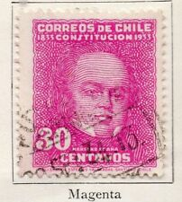 Chile 1931-34 Early Issue Fine Used 30c. 097999