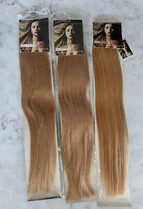 Bulk Hair Extension Lot 15 Packs - Remy Quality 22 Inches 100% Human Hair - Bond