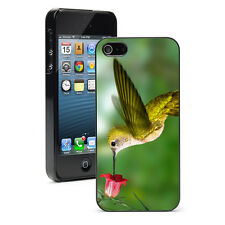 For iPhone SE 5 5S 5c 6 6s 7 Plus Hard Case Cover 284 Hummingbird & Flower