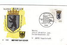 Berlin Wappen  schöner SST von 1992