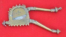"""Antique Bronze / Brass Cigar Cutter 6"""" long. (BI#MK/180529)"""