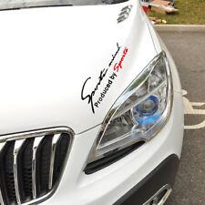 Racing Car SUV Auto Sports Mind Decal Sticker Reflective Vinyl Graphic Sticker