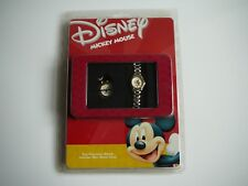 DISNEY MICKEY MOUSE WATCH AND CLOCK