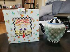 Mary Engelbreit Time for Tea Teapot in original box
