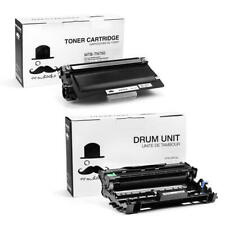 TN750 DR720 Black Toner Cartridge & Drum Unit For Brother DCP-8110DN DCP-8150DN