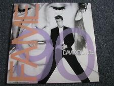 David Bowie-Fame LP-1990-US-POP-5 Mixes Album-from Soundtrack Pretty Woman