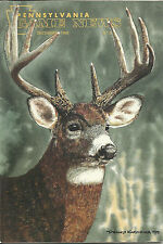 Pennsylvania Game News December 1998 cover by Dennis Karchner Big Buck