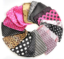 One Polyester Cosmetic MakeUp Bag Case Travel Coin Phone Card Coin Purse Random