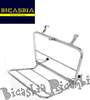 6665 - LUGGAGE RACK FRONT CHROME-PLATED VESPA 180 200 RALLY - SS SUPER SPORT