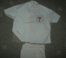 DR. KILDARE  BLAIR GENERAL HOSPITAL  DRESS UP  PLAY SUIT OUTFIT  C. 1960'S  RARE