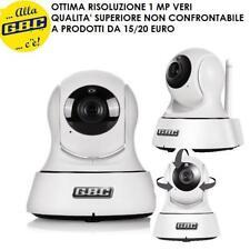 TELECAMERA IP MOTORIZZATA WIZZY+ WI-FI HD 720P 67379418 GBC REGISTRA SU SD 64GB