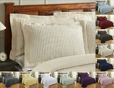 Better Trends Julian 100% Cotton Tufted Chenille Shams in Assorted Sizes Colors