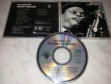 CD BEN WEBSTER - STORMY WEATHER