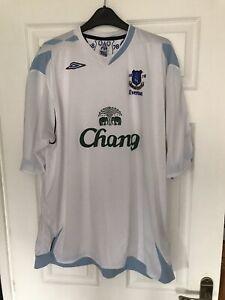 Everton Away Football  Shirt 2006/07 XXL Umbro Classic Soccer Jersey