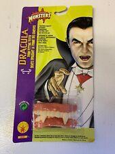 Rubies Vintage Dracula Teeth Fangs Halloween Costume Theatrical Quality Monsters