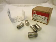"BOX OF 15  CROUSE HINDS ECD15 UNIVERSAL BREATHER OR DRAIN 1/2"" STAINLESS STEEL"