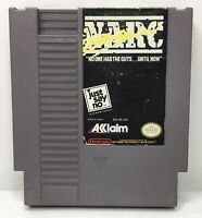 Nintendo NES NARC Video Game Cartridge *Authentic/Cleaned/Tested*