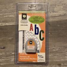 Cricut Solutions Cartridge - STREET SIGN (Retired)