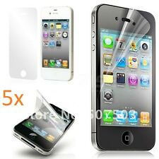 5 X High Quality Ultra Clear Screen Protector for New  I Phone 4/4S