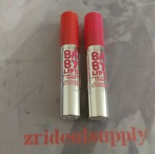 Maybelline Baby Lips Color Balm Crayon 15 Strawberry Pop New Damaged Top 2Pack