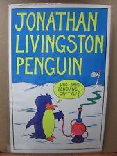 Vintage Black light Poster Jonathan Livingston Penguin 1974 G403