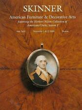 Skinner /// Americana Furniture & Folk Art Post Auction Catalog 2008