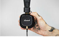 Marshall Major2 HIFI Remote MIC Headphone Noise Cancelling Bass Headset with box