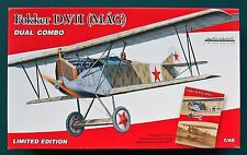 Fokker D.VII (MAG) DUAL COMBO - EDUARD Limited Edition- Kit plastica scala 1/48