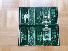 The Dave Brubeck Quartet – Jazz At Oberlin lp