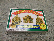 Armies in Plastic 1/32 54mm Box#5409 WW1 Canadian Expeditionary Force CEF