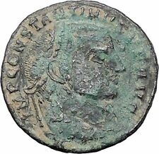 Constantine I The Great 313AD Ancient Roman Coin Jupiter Cult   i47641