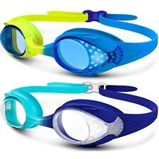 New listing Kids Swim Goggles 2 Pack - Quick Adjustable Strap Swimming For Clothing