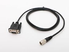 Data Cable 6pin Hirose to COM DB9 for NIKON DTM352,DMT452,D​TM330 Total Stations