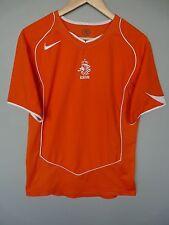 De Colección Países Bajos Holanda Nike 2004 Hogar Camiseta De Fútbol Trikot tamaño pequeño (180)