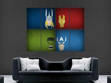 Avengers tv film poster hulk captain america iron man super-héros imprimé