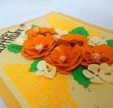 Handmade Expression Happy Birthday 3D Card Enjoy Your Day With Creative Greeting