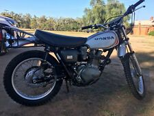 HONDA XL 250 KO MOTOSPORT APRIL 1972 A RARE FIRST MODEL 4,692 MILES AUSSIE BIKE